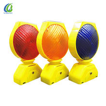 Highly visible factory outlet hot selling good quality solar led light warning beacon for roadside security