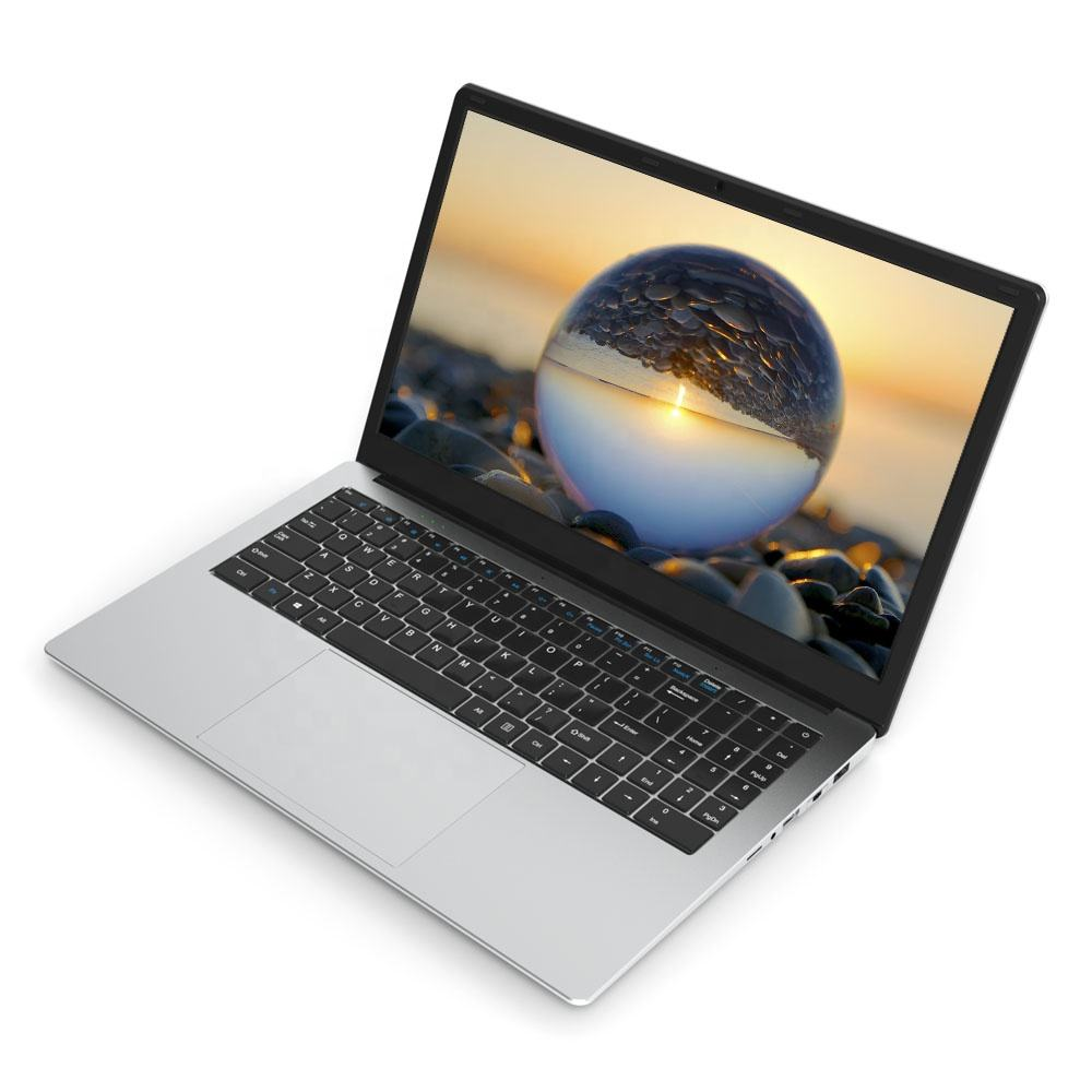 "2021 New Design Wholesale Price Laptops Intel Celeron J3455 Laptops 258GB 15.6"" Thin Win 10 Laptops"