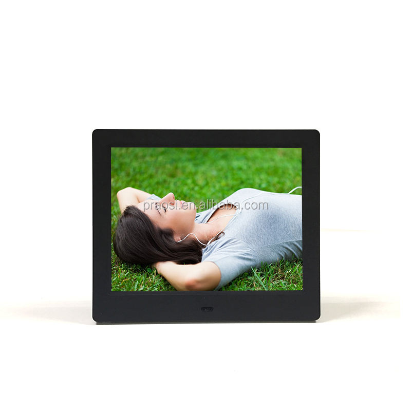 floor stand 800*600 8 inch digital signage usb drive lcd display screen/digital photo frame 8 full hd for sale