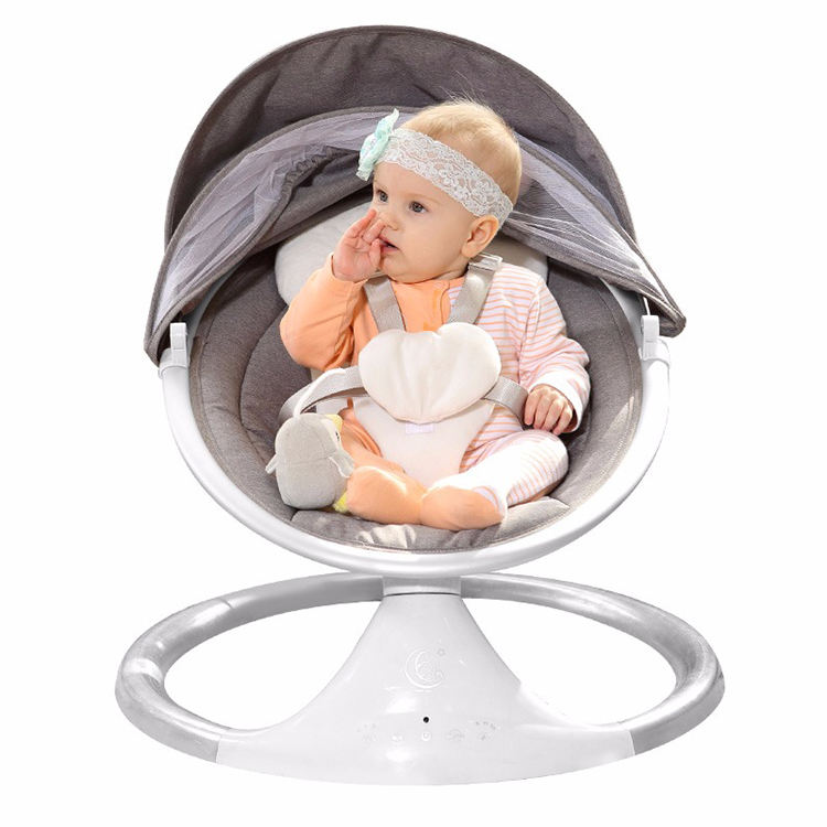Lovely New Design Timing Baby Crib Mobile Toys Musical Babies Beds and Babies Cot Cradle Automatic Swing