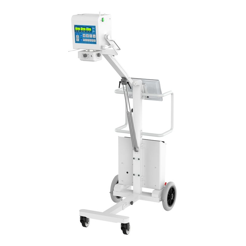 100mA mobile X-ray LCD panel radiography portable x-ray machine for human use
