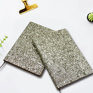 New style glitter sequin notebook Powder Paper Journal Notebook And Diary
