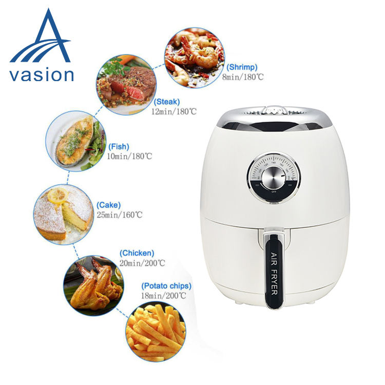 Newest air fryer without oil & no oil air deep fryer kitchen appliance with rapid air circulation