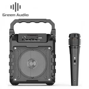 GAS-S33+ Outdoor Multimedia Bluetooth Wireless Portable Speaker With Wired microphone