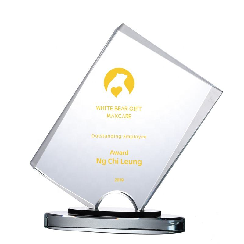 High-grade Exquisite custom crystal trophy award