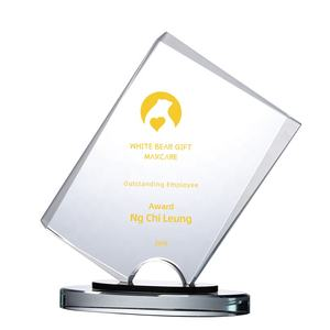 High-grade Exquisite custom crystal trophy award for the year-end
