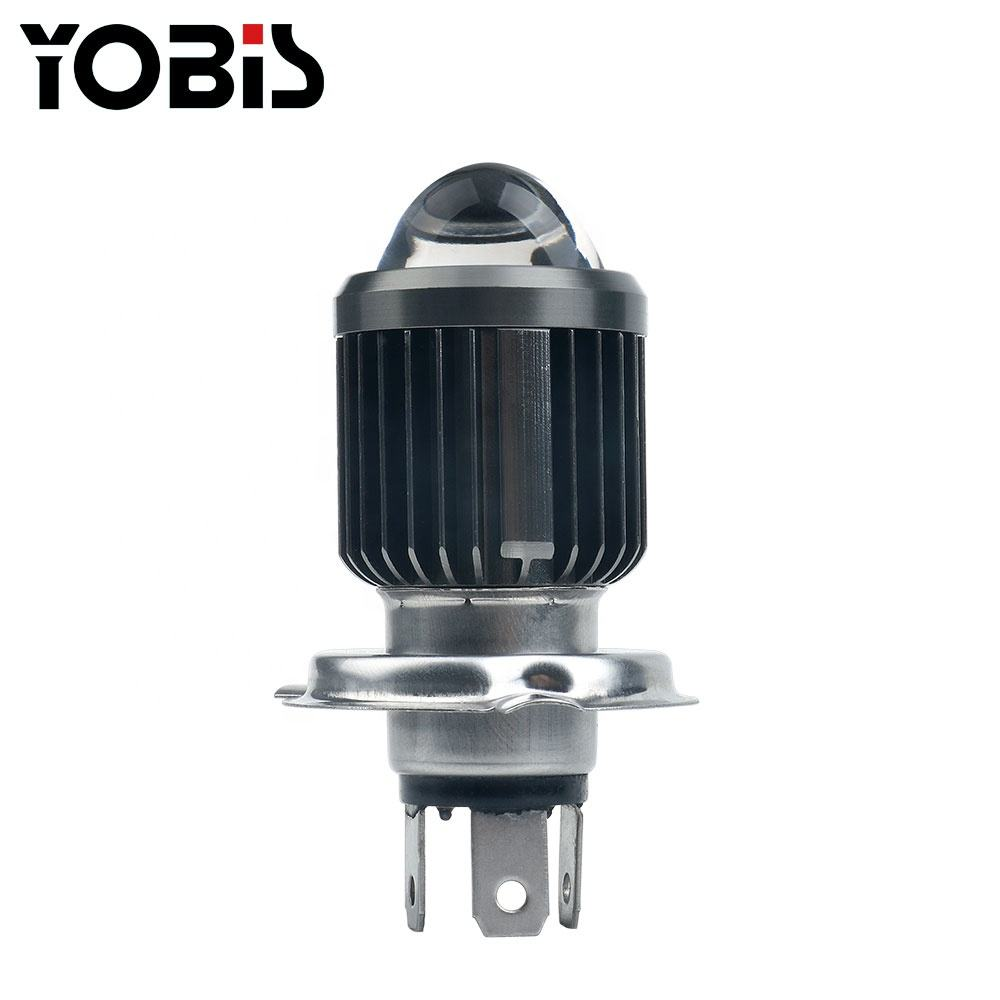 Super Bright H4 BA20D HIGH / LOW Beam LED For Motorcycle Headlight Diode Bulb