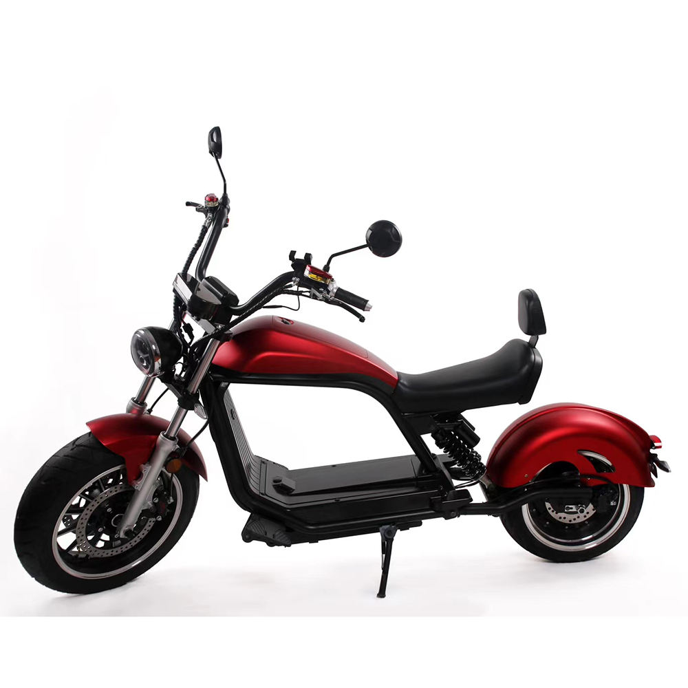 city coco european warehouse 2020 EEC new electric scooter citycoco chopper 2000w removable battery / trotinette electrique
