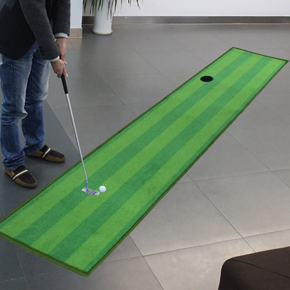 Dotcom Putting Practice Hitting Swing Mini Range Turf Outdoor Driving Grass Floor Indoor Green Putter Golf Mat