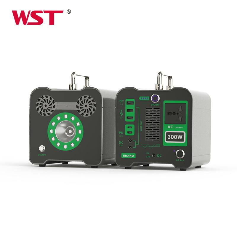 Different colors mini power bank station solar generator power inverter ac dc power supply station