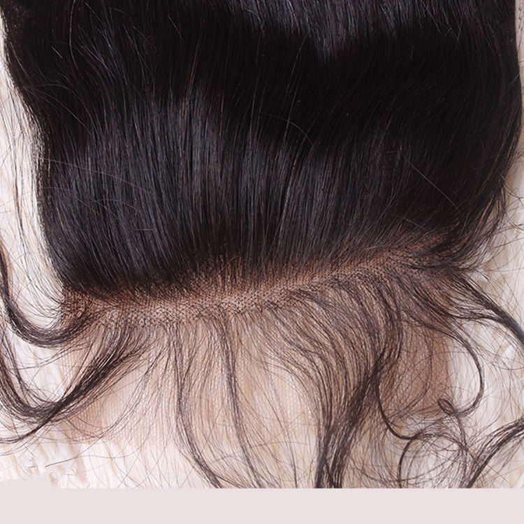 free parting lace front closure silky straight hair closure 100% virgin hair front lace closure