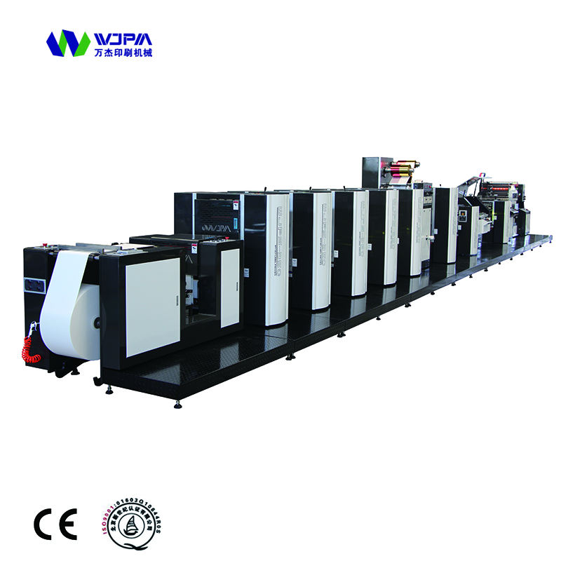 560mm roll to roll Offset Printing Machine