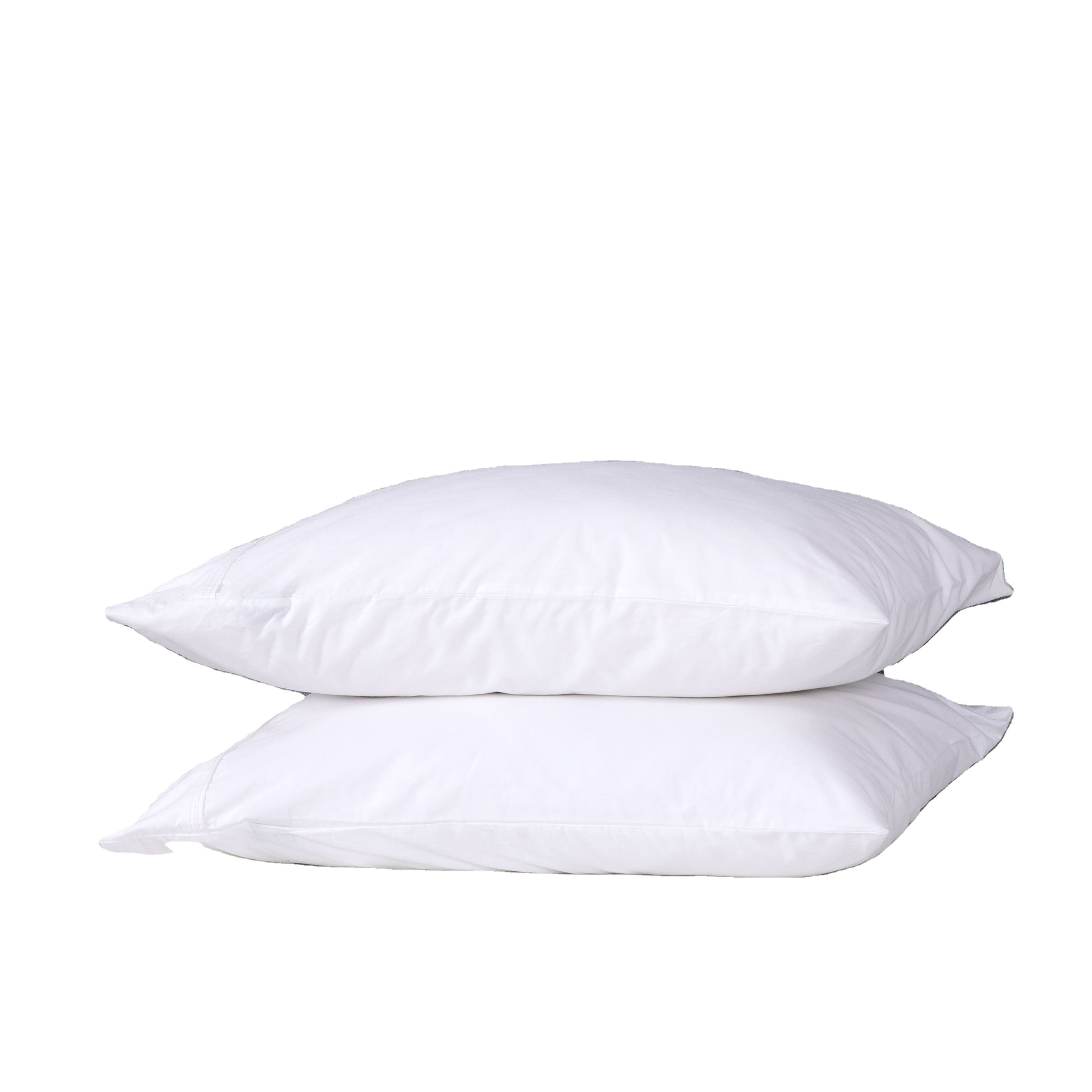 wholesale custom white anti allergy kids hotel modern luxury egyptian organic 100% cotton cover pillow case