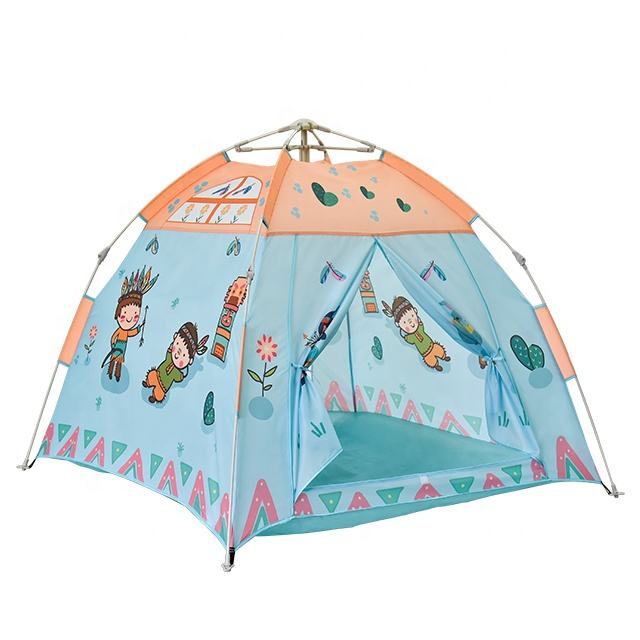 ODM Pop Up Beautiful Easiest Installation Kids Play Cute Toy Tents