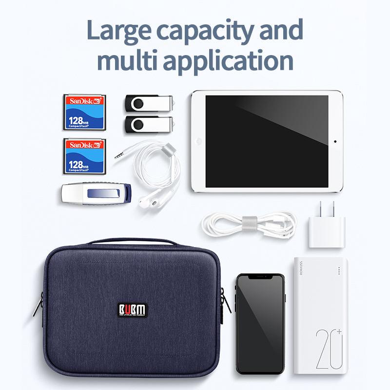 Storage Bag Organizer BUBM DPS Electronics Organizer Storage Bag