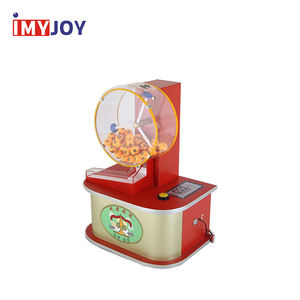 Commercial celebration ping pong ball machine coin lottery gravity pick lotto draw lottery machine