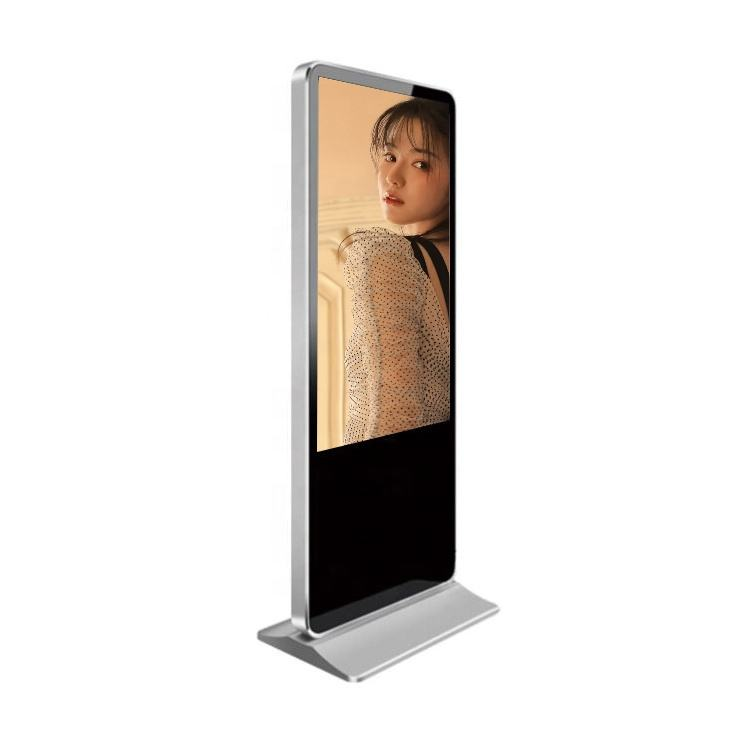 Polegadas Ultra fino painel IPS 4 49 k android multi floor standing 4g touchscreen led digital signage que anuncia o jogador
