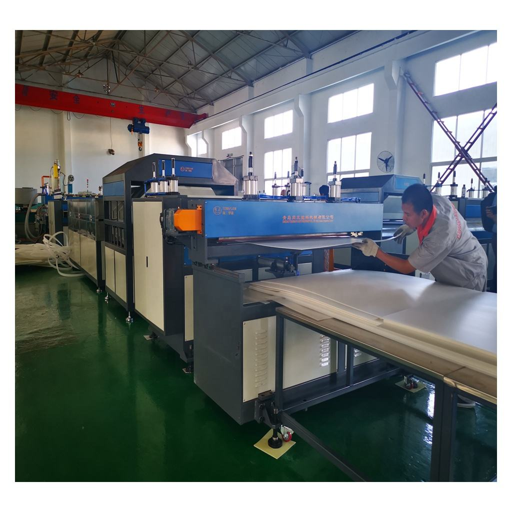PP Hollow Plate Extrusion line/ PP corrugated sheet manufacturing machine/ plastic corrugated box making machine