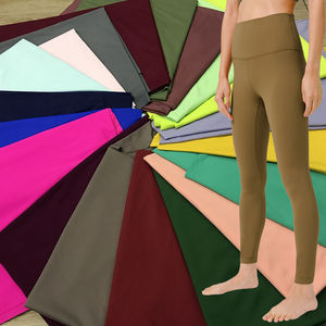 Instock 73% polyester 27% spandex fabric for leggings and yoga pants