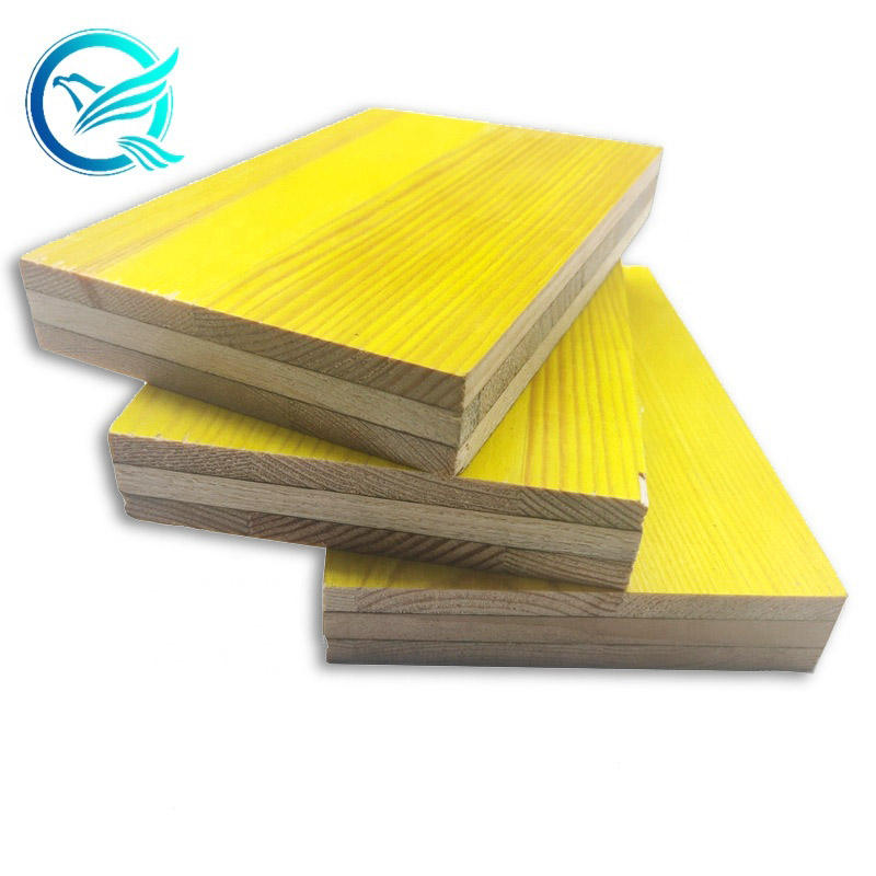 LEONKING Doka like 21 27MM 3 ply yellow pine fir spruce core phenolic glue WBP shuttering panel with melamine glue coating for c