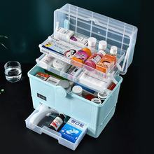 Wholesale Plastic Medicine Chest Portable Multi-Purpose Medicine Box