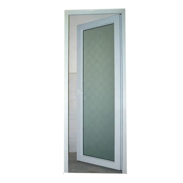 pvc plastic shower room glass doors