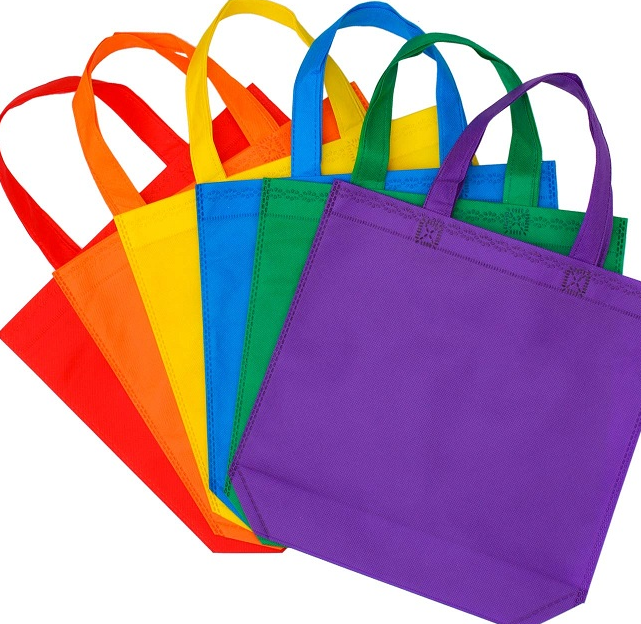 Customized promo non woven laminated tote bag