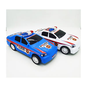 Metal Diy Model Toys Pull Back Vehicle Mini Diecast Car Police Car
