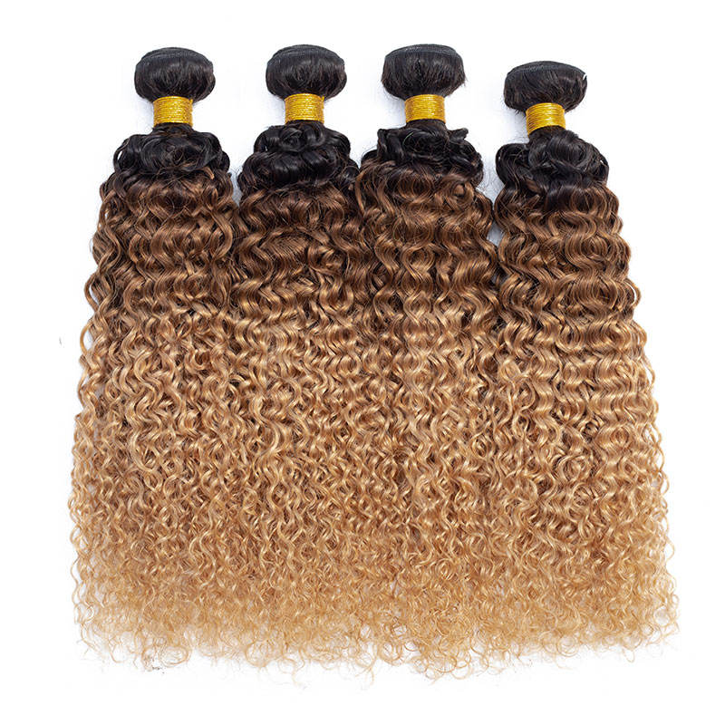 All'ingrosso Ombre Marrone <span class=keywords><strong>Naturale</strong></span> <span class=keywords><strong>Dei</strong></span> <span class=keywords><strong>Capelli</strong></span> Bundles <span class=keywords><strong>Afro</strong></span> Crespo <span class=keywords><strong>Dei</strong></span> <span class=keywords><strong>Capelli</strong></span> Ricci Per Le Donne Nere