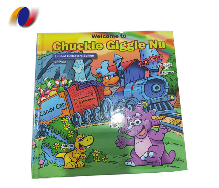 Custom High Quality Overseas hardcover children offset picture book printing