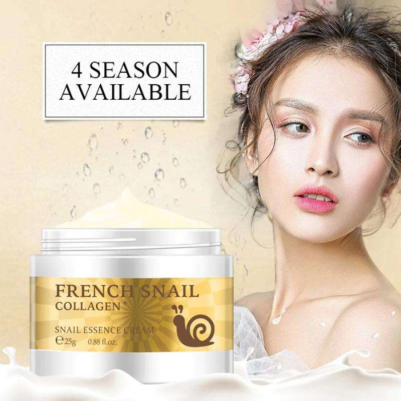 LaiKou Snail Essence Face Cream Hyaluronic Acid Anti-aging Moisturizer Nourishing Collagen Essence Women Skin Care Day Cream