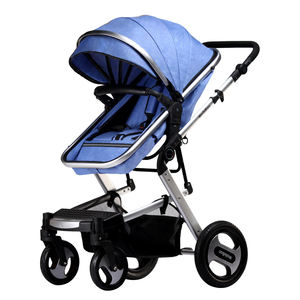 China factory 2 in 1 super luxury High View custom made portable baby stroller for sale