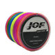 4 Stands JOF PE 300m 500m 1000m fishing Thread china Braided Multicolor Fishing Line