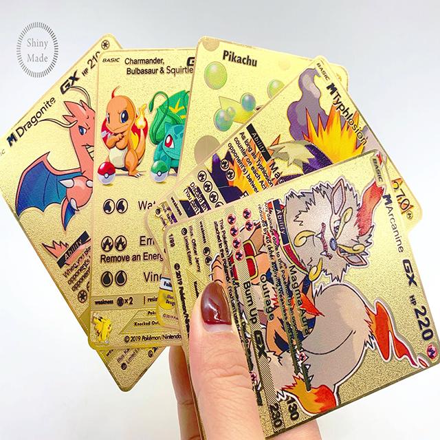 Custom 100 Minimum O Trading Cards Printing Services Nom du produit Wholesale Pokemon Cards Trading Card Game