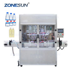ZONESUN ZS-YT8T-8ZL 8-head Automatic Juice Perfume Eye Drop Liquid Bottle Gravity Filling Machine