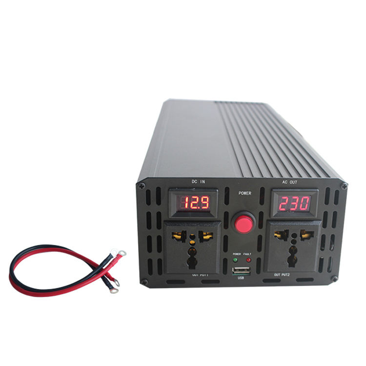 Hotsales Full Power 12v 220v 1000w 1500w 2000w Modified Sine Wave Power Inverter With LED Display