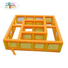 Outdoor popular games inflatable maze haunted house for sale