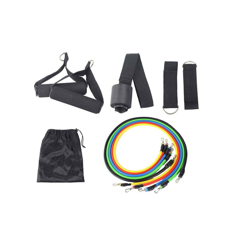 2020 NEUE Amazon top TPE Material Fitness Gym Stretch 11 kits Widerstand Band Set