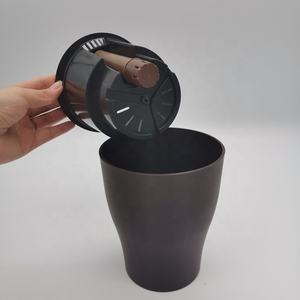 2 PC Round Plastic Pots for Plants Self Watering Pots with Water Indicator