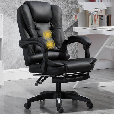 Rotary engineering boss chair lift massage chairs reclining human office chair