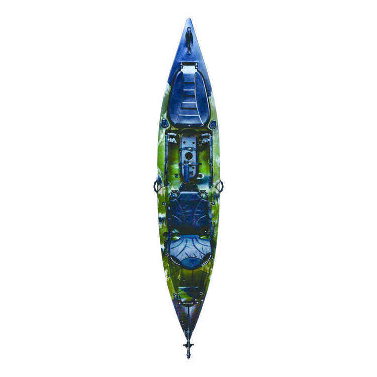 12.8Ft 단일 Tolee 2020 프레데터 낚시 티모 카약 카누 항해