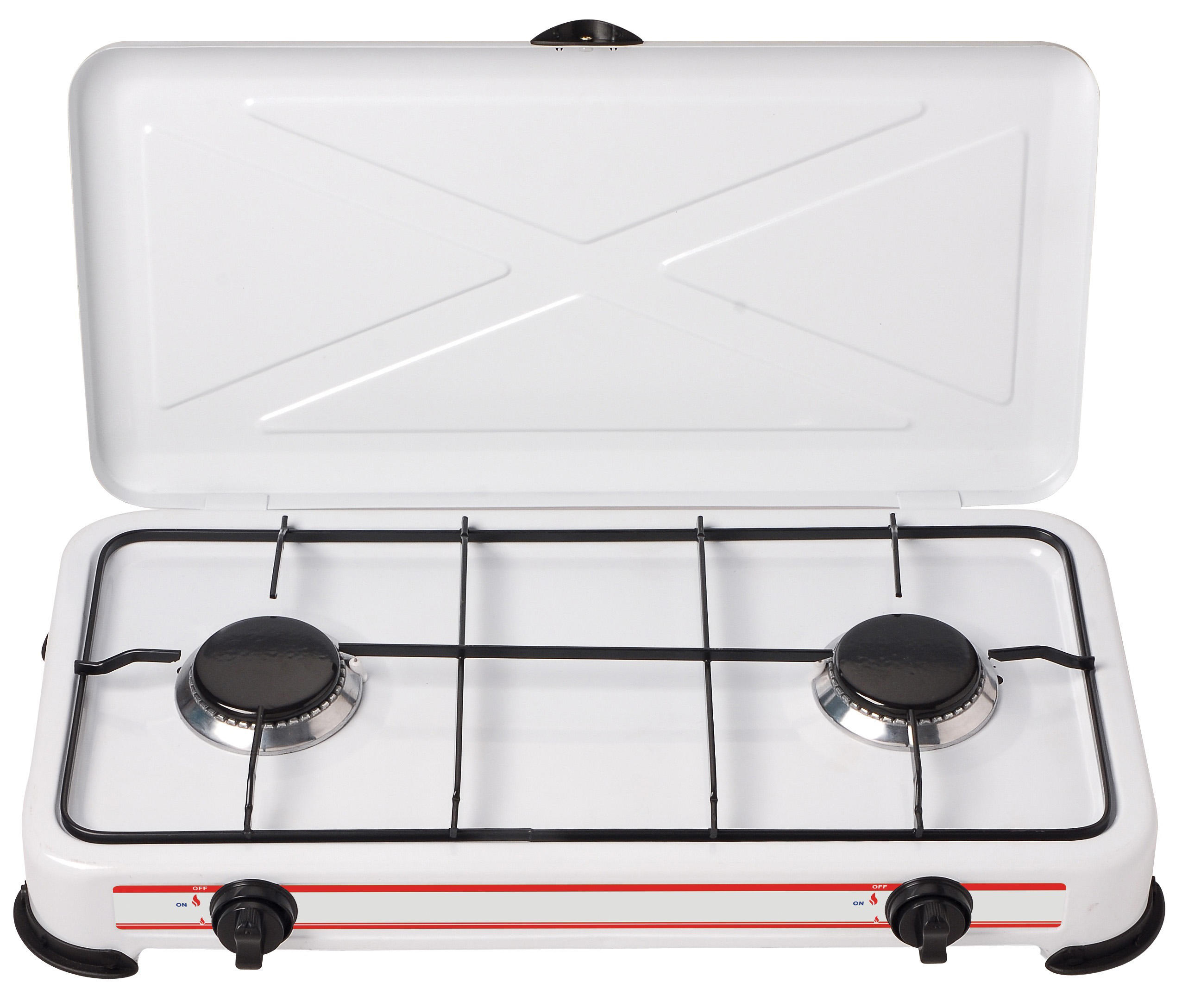Three Burner Portable Camping Table Gas Stove CE MST-GS32
