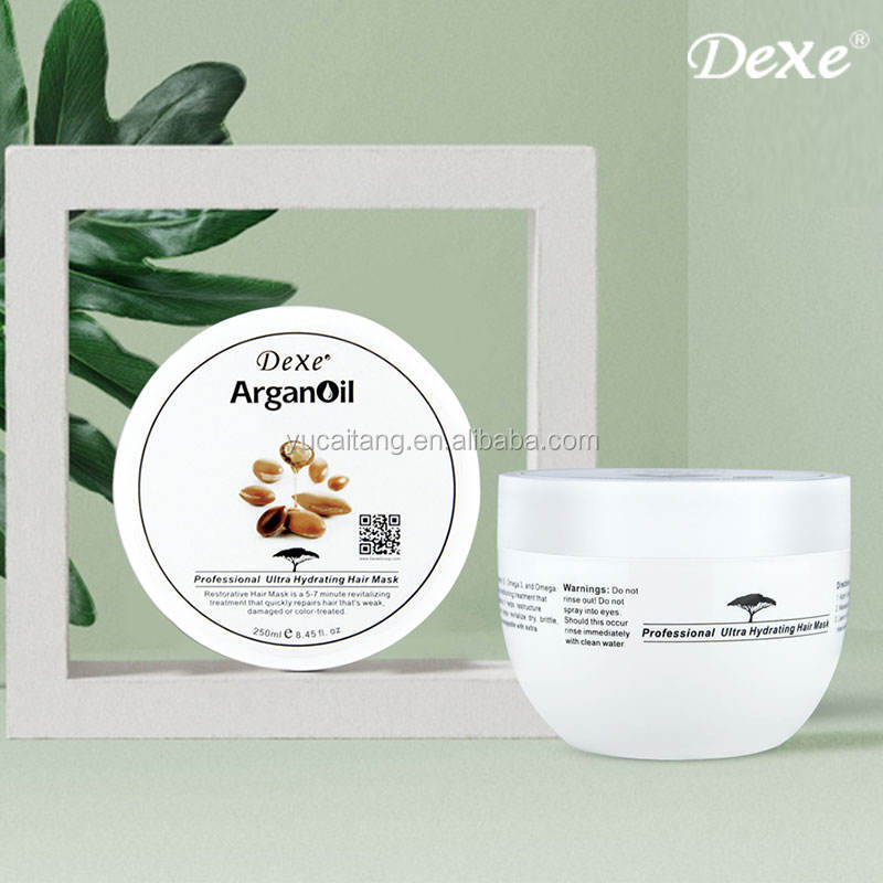 Private Label Organic Hair Treatment Argan Oil Series Hair Mask
