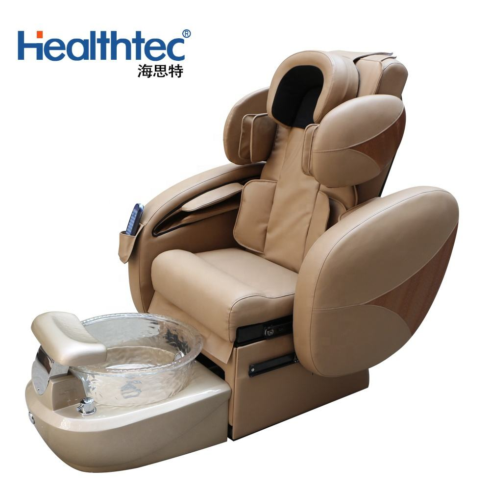 2020 Hot Luxury Full Body Massage Manicure Pedicure Spa Chair For Nail Salon