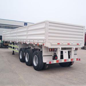 40 Tons 80 Ton Rear Dump Truck Tipper Trailer For Sales