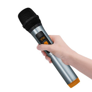 High quality famous brand SHIDU professional 700-720MHZ uhf wireless singer microphone
