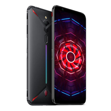 "Global ubia Red Magic 3 Mobile Phone Snapdragon 855 5000mAh 6.65"" FHD+ Rear 48MP Front 16MP 64GB/128GB/256GB ROM 4G LTE Game Pho"