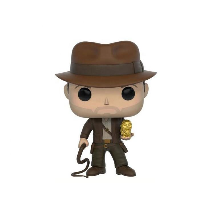 JRaiders of the Lost Ark Indiana Jones Figure Collection Vinyl Doll Model Toys funko pop 199