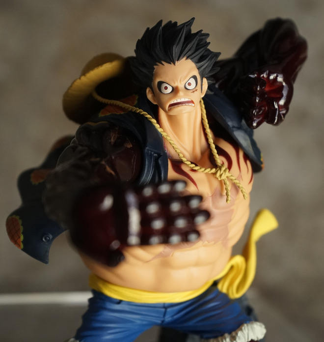 Plastic Figurine Manufacturer PVC OEM One Piece Fourth Gear Hand Model action figures For sale