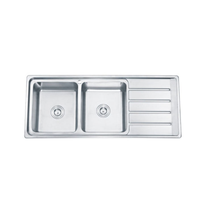 Modern sus 304 kitchen sink wit drainboard fregadero de cocina kitchen accessories